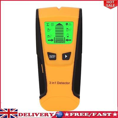 £14.21 • Buy Metal Wood Studs Detector AC Voltage Live Wire Detect Wall Scanner (Yellow)