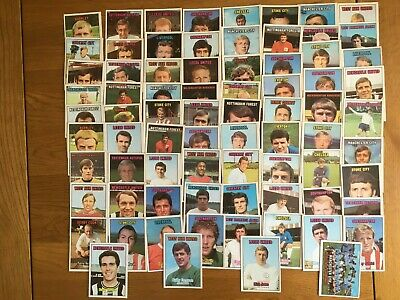 £16 • Buy A&BC Gum Football Cards 1970/71 Orange Back Series 1 Cards (x76)
