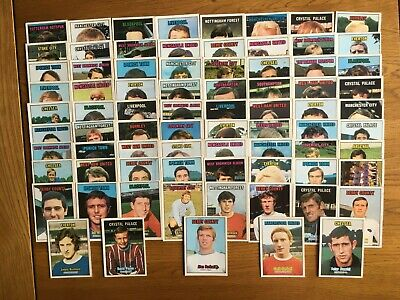 £16 • Buy A&BC Gum Football Cards 1970/71 Orange Back Series 2 Cards (x77)