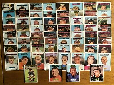 £27 • Buy A&BC Gum Football Cards 1970/71 Orange Back Series 3 Cards (x68)