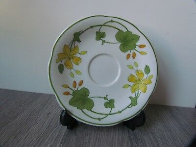 £6 • Buy Villeroy & Boch China 'Geranium Pattern' Saucer -made In Germany