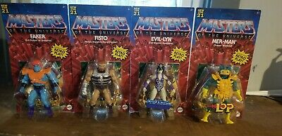 $76 • Buy Mattel Masters Of The Universe Origins Wave 5 Complete Set- New UNPUNCHED