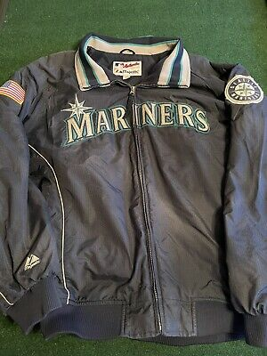 $40 • Buy Majestic Authentic Collection MLB Seattle Mariners Embroidered Dugout Jacket XXL