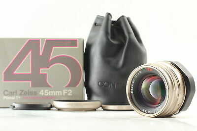 $ CDN510.31 • Buy [N Mint In Box Case] Contax Carl Zeiss Planar 45mm F/2 T* For G1 G2 From Japan