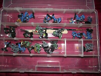 £21.99 • Buy 25 Warhammer 40,000 Figures Some Painted Some Not Also Unmade Figures & Random