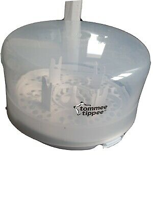 £0.99 • Buy Tommee Tippee Closer To Nature Microwave Steam Steriliser Holds - 4 X Bottles