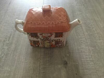 £3 • Buy Cream Country Cottage Rectangle Teapot By Sadler