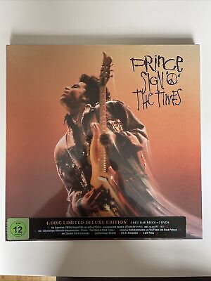 £49.99 • Buy Prince Sign Of The Time Blu-ray DVD  Deluxe Box Set