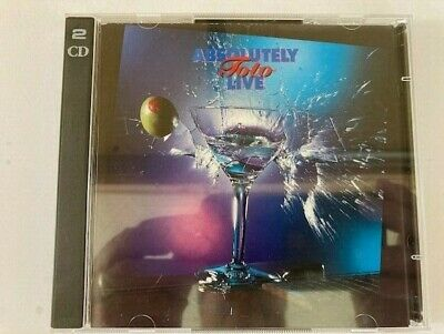 £2.99 • Buy Toto - Absolutely Live 2 CDs Sony Music 1993 Austrian Press