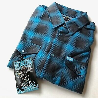 $88.99 • Buy Dixxon Flannel Company Pacifica (Size XL) Brand New Blue Grey Long Sleeve