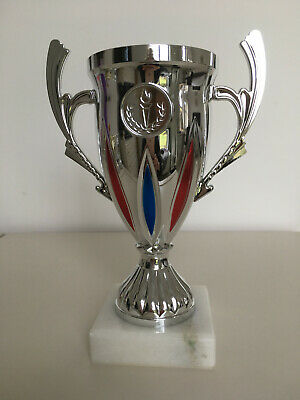 £3.50 • Buy Plastic Brand New Multi Sports Cup Trophy On Marble Base 190mm