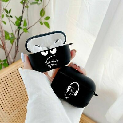 AU7.99 • Buy Cute  Simple Text Earphone For AirPods Pro 3 Case Cover 1 2 For Apple Earpods