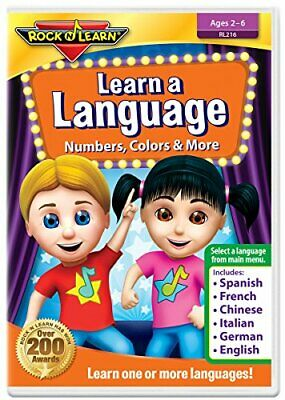 £11.64 • Buy Learn A Language [DVD] [2021] - DVD  LMVG The Cheap Fast Free Post