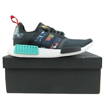 $ CDN136.90 • Buy Adidas NMD R1 Womens Running Shoes Size 10 Black Floral Pack NEW FY3665