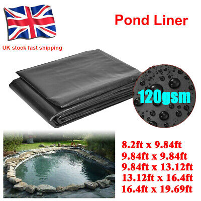 £13.99 • Buy 120gsm Fish Pond Liners Garden Pool Liners With Tough Quality 40 Years Guarantee