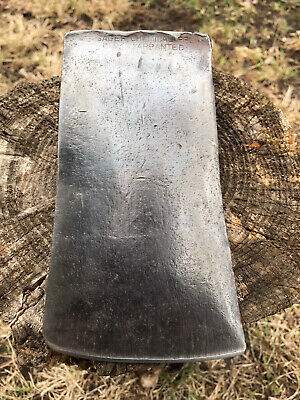 $100 • Buy VINTAGE SAGER CHEMICAL PROCESS FROM 1890s SIGNAL BIT AXE RARE MAINE WEDGE SHAPED