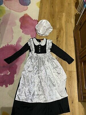 $1.95 • Buy Rubies Maid Outfit, Size 7-8 Yrs Hat 5-6yrs