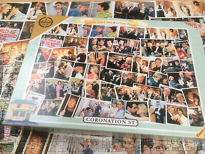 £1.20 • Buy Falcon Double Sided Deluxe 100 Piece Jigsaw Puzzle Coronation Street Complete