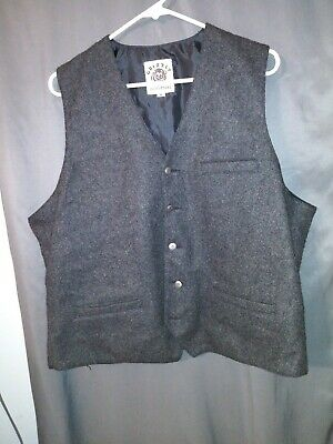 $25 • Buy Men's Grizzly Outfitters Wool Blend Lined Vest Xl
