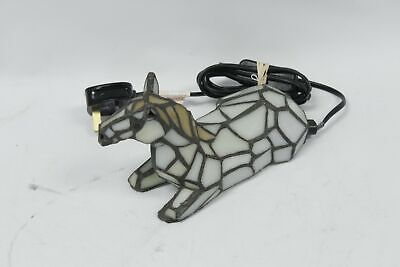 £26.05 • Buy UNBRANDED Tiffany Stained Glass Table Lamp Horse Design 15W - SA9
