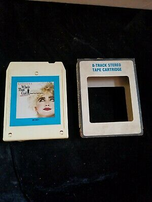 £82.74 • Buy MADONNA Who's That Girl 8-Track Tape Rare Columbia House W8 25611