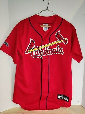 $26 • Buy Majestic Authentic Cardinals Jersey Men's Size M Near Mint New Without Tag!!