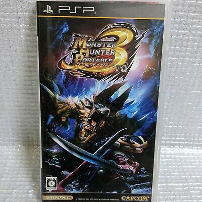 AU0.01 • Buy MONSTER HUNTER 3rd PSP Sony Japan Import Look Somewhat Used NTSC Very Good