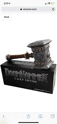£229.49 • Buy World Of Warcraft Epic Weapons Doomhammer LARP Edition 2011 Blizzcon   VERY RARE