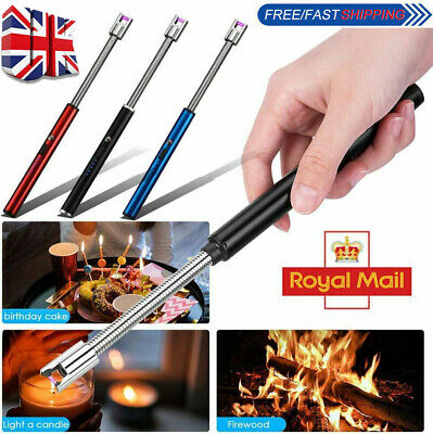 £6.85 • Buy BBQ CANDLE KITCHEN LIGHTER FLEXIBLE LONG ELECTRIC/ARC Rechargeable USB Flameless