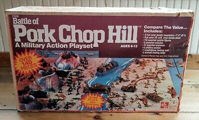 $35 • Buy 1981 Battle Of Pork Chop Hill Military Playset (Hong Kong) With Tanks And Planes