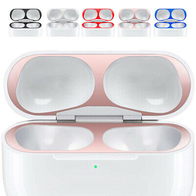 AU9.05 • Buy For Apple Airpods 1 2 Pro Accessories Metal Dust Guard Protective Film Sticker