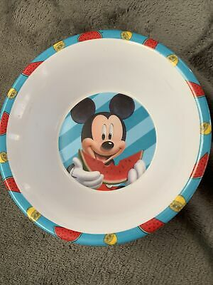£3.10 • Buy Disney Mickey Mouse Bowl Childrens Infant Toddler Cutlery