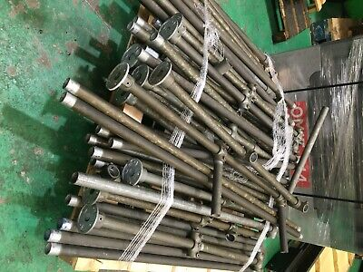 £20 • Buy Galvanised Platform Fencing, Industrial Pole Type. Strut Supports And All Parts