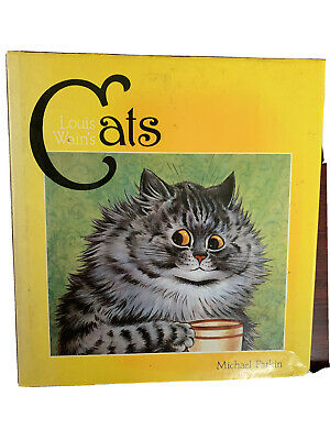 £0.99 • Buy Louis Wain's Cats By Michael Parkin. Published By Thames And Hudson 1983