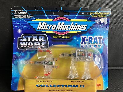 £12.99 • Buy Star Wars Micro Machines Star Wars X-Ray Collection 2, 1995, X-Wing And AT-AT.