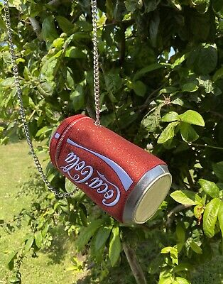 £24 • Buy Coca Cola   Can Bag  With Chain Skinny Dip
