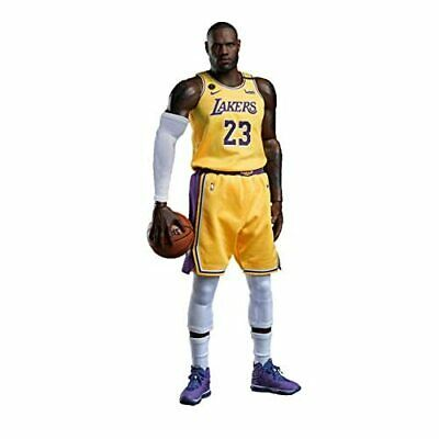 $526.28 • Buy REAL MASTERPIECE NBA COLLECTION 1/6 LEBRON JAMES LA LAKERS Ver. Action Figure