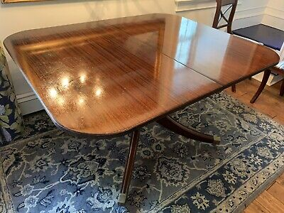 $50 • Buy Antique English Mahogany Dining Room Table With Leaf