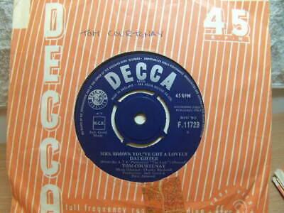"""£3.50 • Buy Tom Courtenay – Mrs Brown You've Got A Lovely Daughter 1963 7"""" Decca F 11729"""