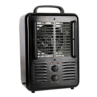 $45.77 • Buy Space Heater 1500W Milkhouse Heater With Thermostat Overheat Protection Adjus