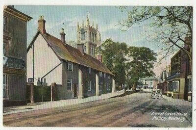 £3 • Buy Melton Mowbray Anne Of Cleves House Leicestershire 1904  Postcard J Towne 351c