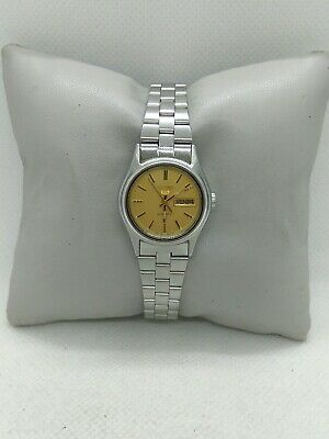 £37.80 • Buy Seiko 5 Automatic Ladies Watch 4206-0490 Day&date Working Excellent