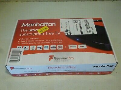 £24.99 • Buy Freeview Play Recorder Hdr 5t01 .500gb 80 Channel, Instructions boxed .