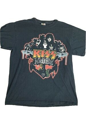 $22 • Buy KISS Kruise Concert T-Shirt Adult Large 2 Sided 2011