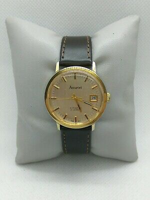 £38 • Buy Gents Vintage Accurist 21 Jewels Automatic Watch Working Excellent