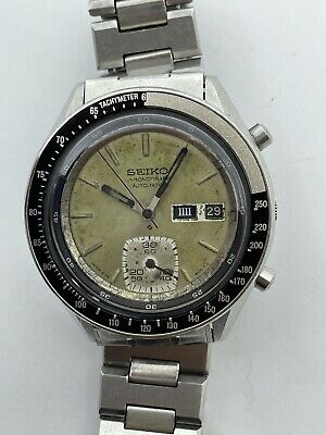 $ CDN447.63 • Buy Vintage Seiko Ref 6139-6040 Automatic Chronograph Japanese Watch Fully Serviced