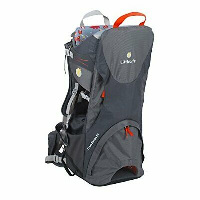£202.76 • Buy LittleLife Cross Country S4 Child Carrier (Grey)
