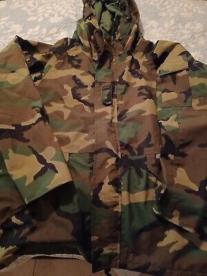 $72.99 • Buy US Army Military ECWCS BDU Cold Weather Camouflage Field Parka Jacket L Regular