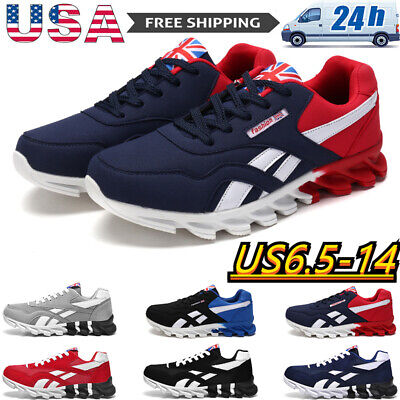 $23.66 • Buy Fashion Sports Running Men's Shoes Breathable Casual Jogging Sneakers Tennis Gym