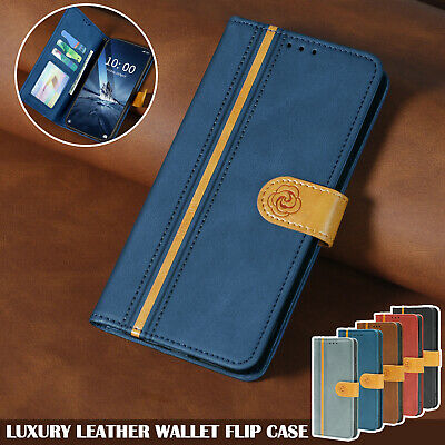 AU13.99 • Buy For IPhone 13 12 11 Pro Max 8/7/SE XS/X XR Case Luxury Leather Wallet Flip Cover